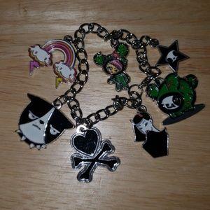 tokidoki Jewelry - Retired tokidoki charm bracelet